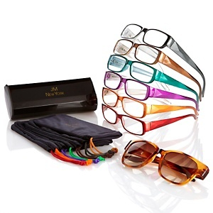 Joy Mangano SHADES Readers 15-piece Diamond Cut Collection at HSN.com.