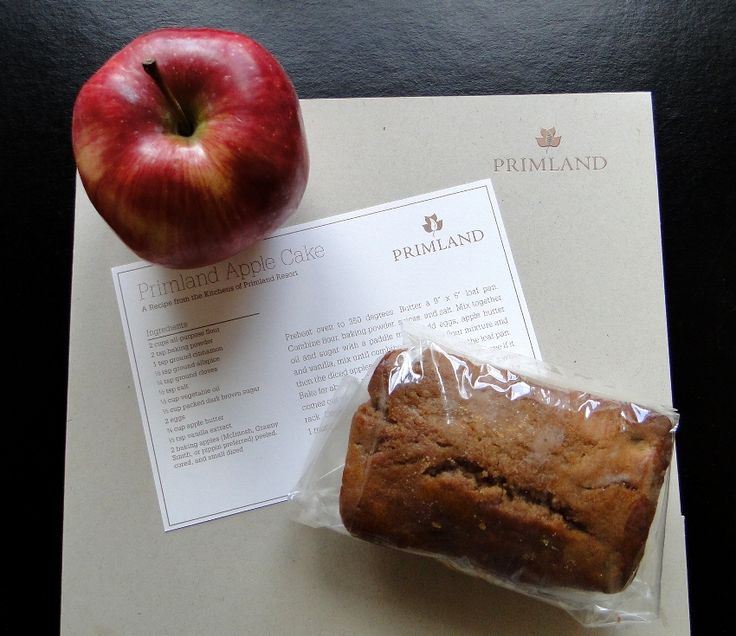 Apple Cake Recipe from Primland Resort | Recipes | Pinterest