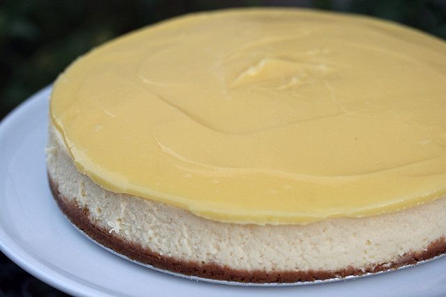 Lemon Cheesecake (Baking Illustrated) by Food Librarian, via Flickr