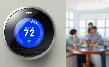 The Nest thermostat ($249) saves money and energy by automatically learning user behavior and adjusting itself accordingly. It can be controlled remotely via a Wi-Fi connection, and it's easier to read, adjust and install than most other programmable thermostats. All this, and it's a looker, too