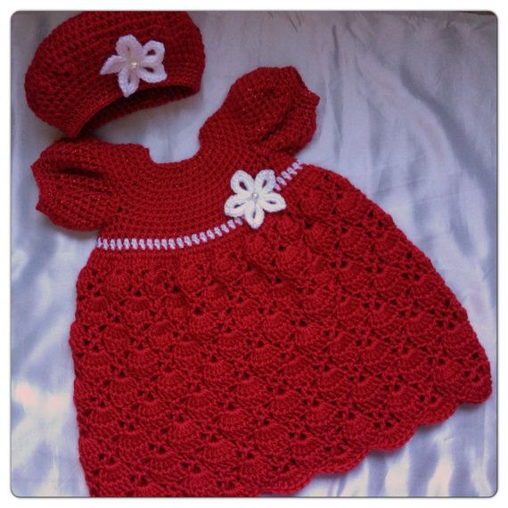 Baby girl christmas dress holiday outfit baby by creations23baby 35