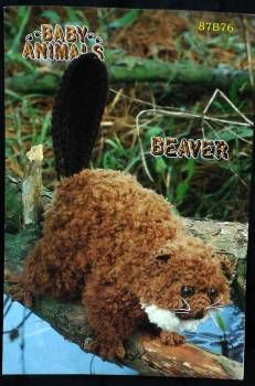 Free Amigurumi Patterns: Dammed Beaver