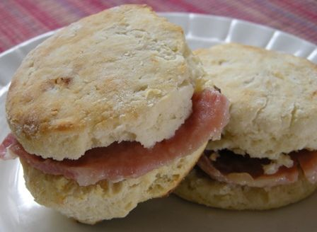 Country Ham Biscuits | SOUL FOOD | Pinterest