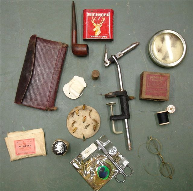 Vintage fly fishing gear for Fly fishing supplies