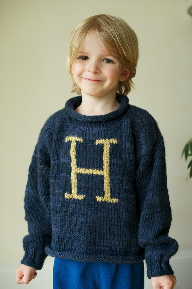 cutest! Like a harry potter sweater. Baby & kid stuff - Crocheted