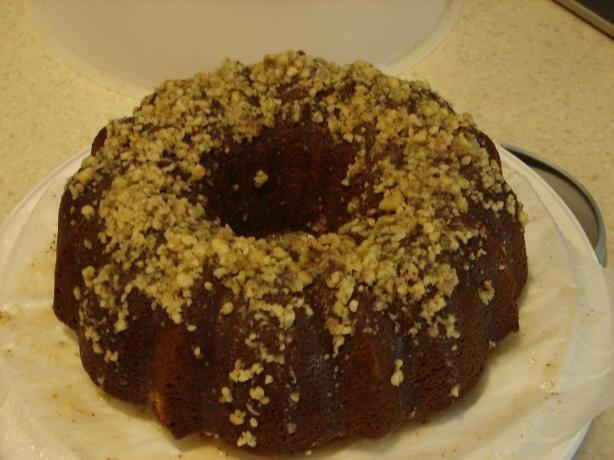vanilla pudding bundt cake from scratch
