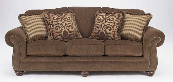 Accent Pillows For Chocolate Brown Couch : Chocolate brown sofa with throw pillows For the Home Pinterest