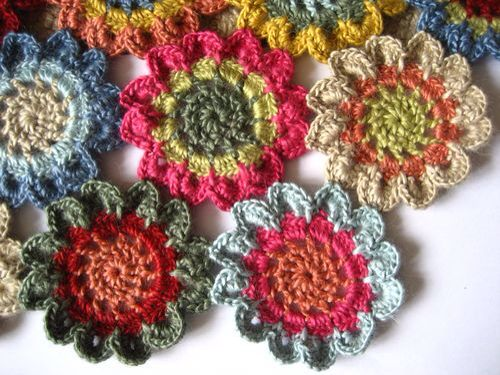 Japanese flower shawl Crochet - Samples Of My Work ...