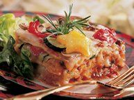 Roasted Vegetable Lasagna with Goat Cheese | Recipe