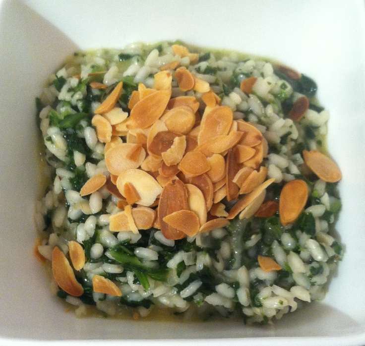 Spinach Risotto | No Bacon Here Recipes | Pinterest