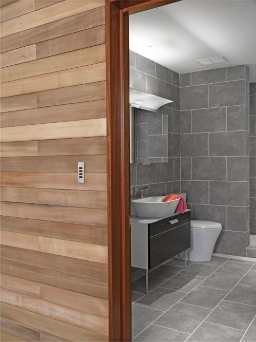 Wood Paneling On The Walls Badkamer Bathroom Pinterest