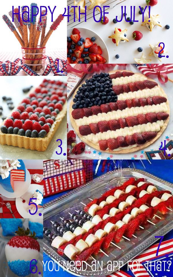 Pin by blake kohn on you need an app for that pinterest for 4th of july appetizers and desserts