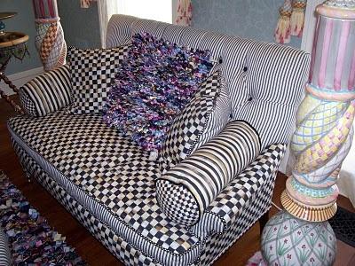 Mackenzie Childs - Sofa