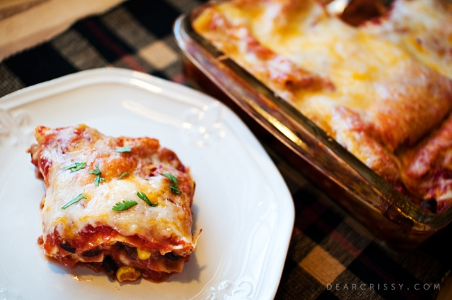 Mexican lasagna | Recipe