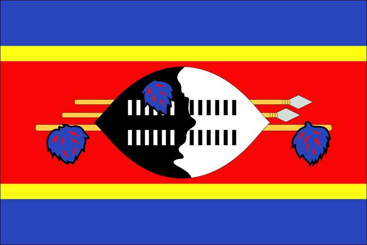 Swaziland See Eswatini Flag