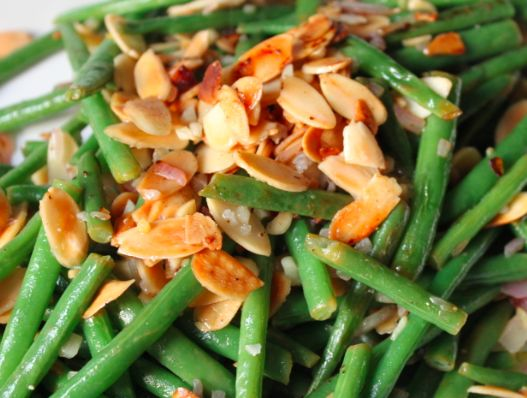 Green Beans + Toasted Almonds | Top Chef | Pinterest