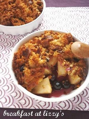 apple & blueberry crumble   in my kitchen   Pinterest