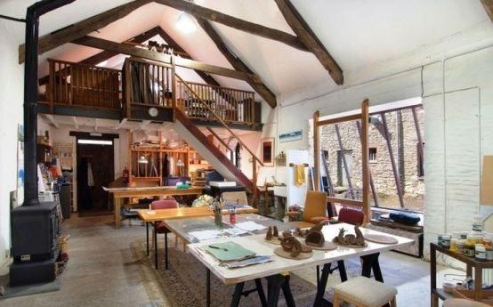 Home art studio furniture art studios pinterest - Home art studio furniture ...