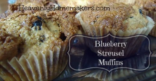 Whole Wheat Blueberry Streusel Muffin Recipe: http ...