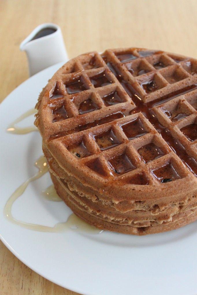 Ingedient Spiced Pumpkin Waffles | Breakfast recipes | Pinterest