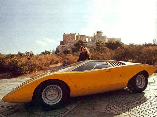 1971 lamborghini countach lp500 concept vintage concept cars pint. Black Bedroom Furniture Sets. Home Design Ideas