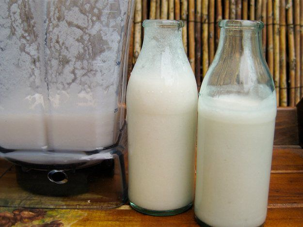 Home Made Raw Coconut Milk | Sahar | Pinterest