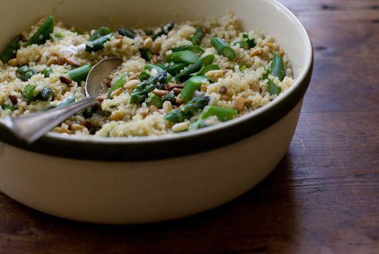 Tabasco & Asparagus Quinoa Recipe by Heidi Swanson on #101cookbooks ...
