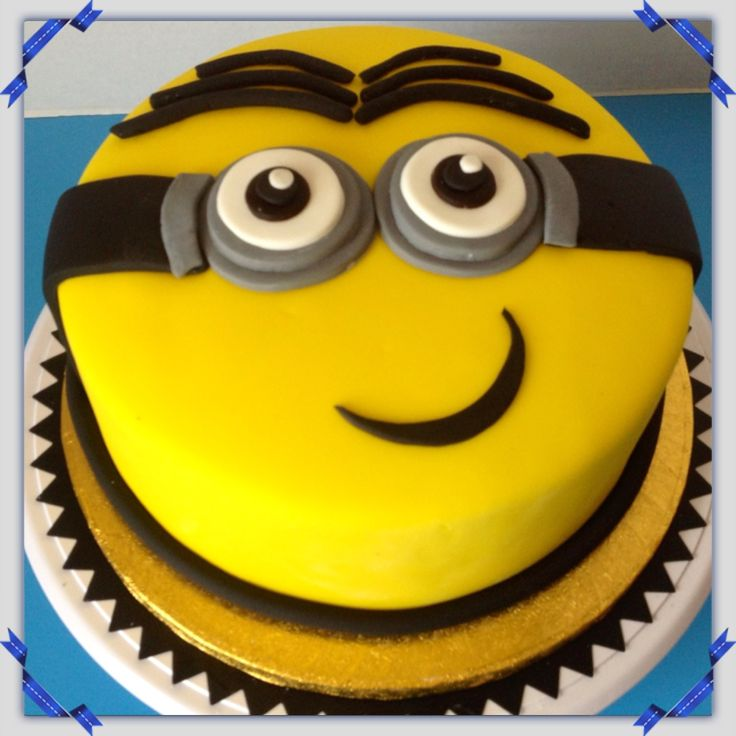 Minion Cake Cake/Cookie Decorating Pinterest