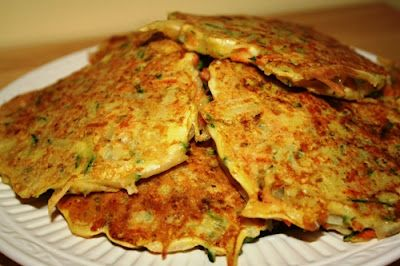 Veggie Pancakes - potato pancakes get a boost.
