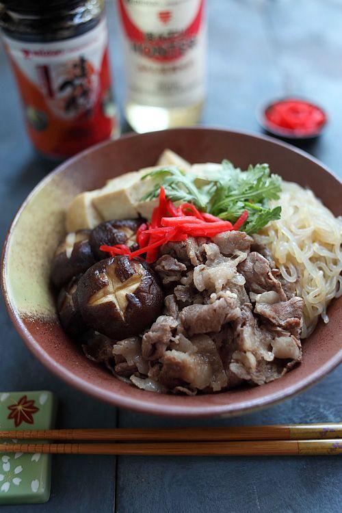 Sukiyaki Donburi*-*.