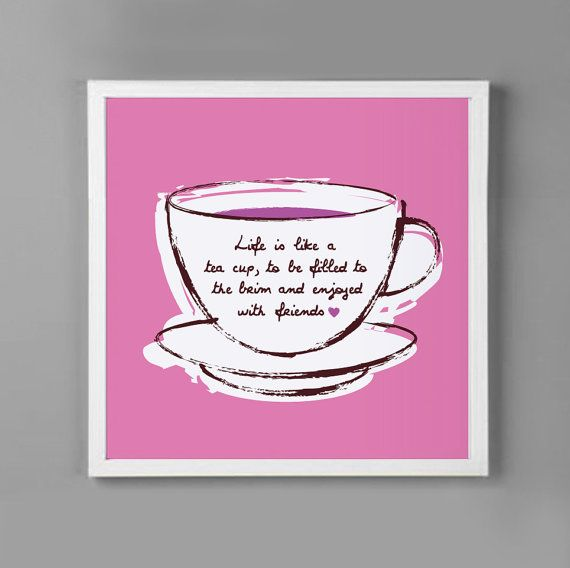 Friendship Tea Sayings : Cute for tea party quotes quotesgram