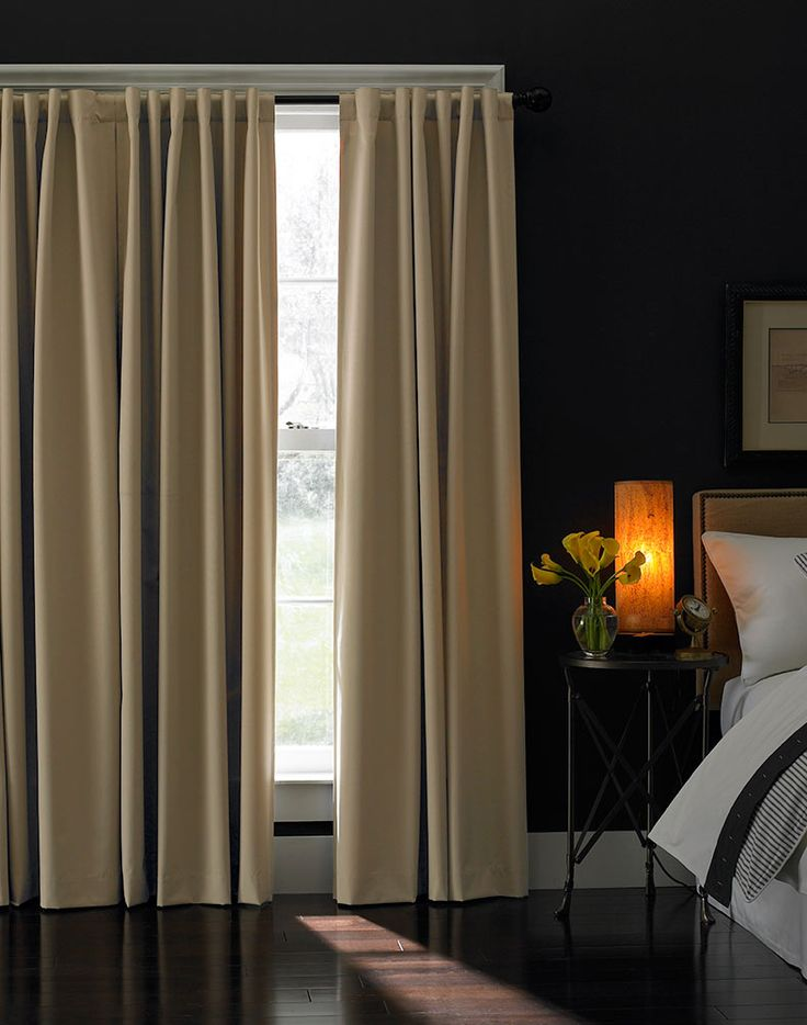 Blackout curtains for the bedroom Dream Home Master