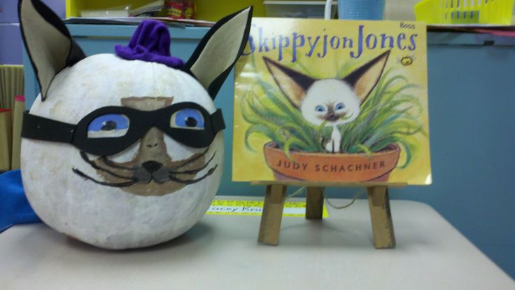 Book Character Pumpkins  Skippyjon Jones