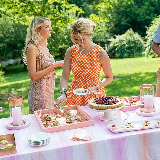 11 ideas for an elegant outdoor party Home and garden party