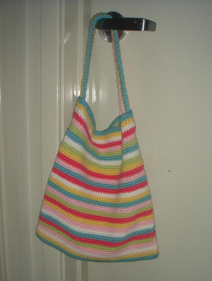 Crochet Book Bag : Crochet Book Bag Crochet It -- Bags Pinterest