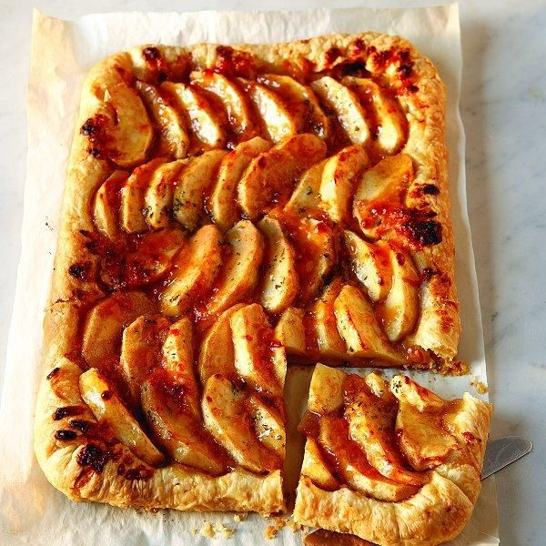 Easy apple tart with aged cheddar crust   Food and stuffs   Pinterest
