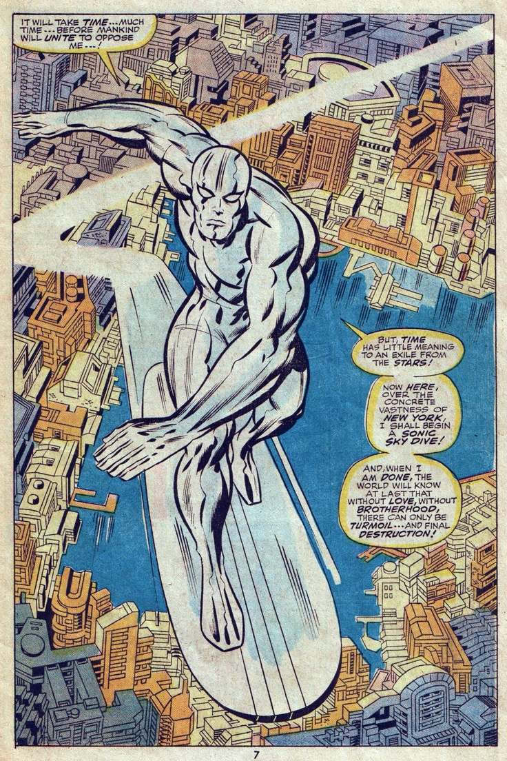 silver surfer by jack kirby jack quotkingquot kirby pinterest