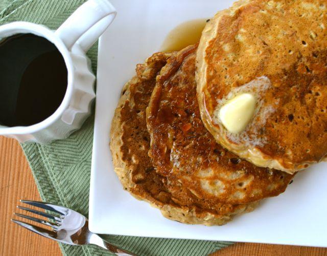 oatmeal cookie pancakes 1