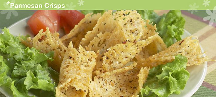 Parmesan Crisps Recipe Shared by Tupperware® site. Delicious snack or ...
