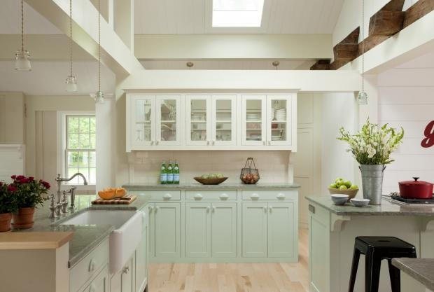 An Airy, Mint Green Kitchen  Kitchens of the Week  Pinterest