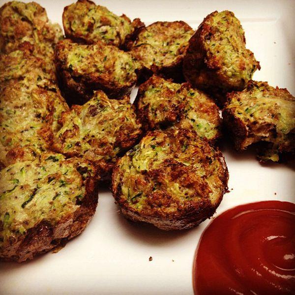 Zucchini Tots | Squash Recipes | Pinterest