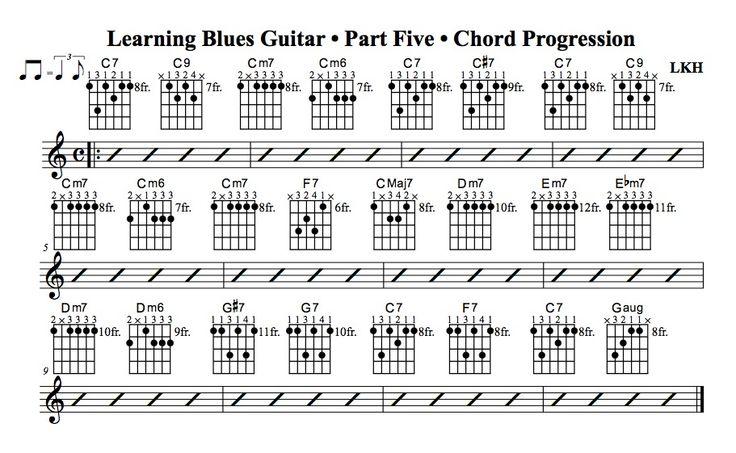 Beautiful Chord Progressions For Guitar Pdf Model - Basic Guitar ...