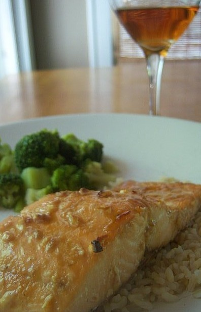 Maple Salmon that is on the healthier side!