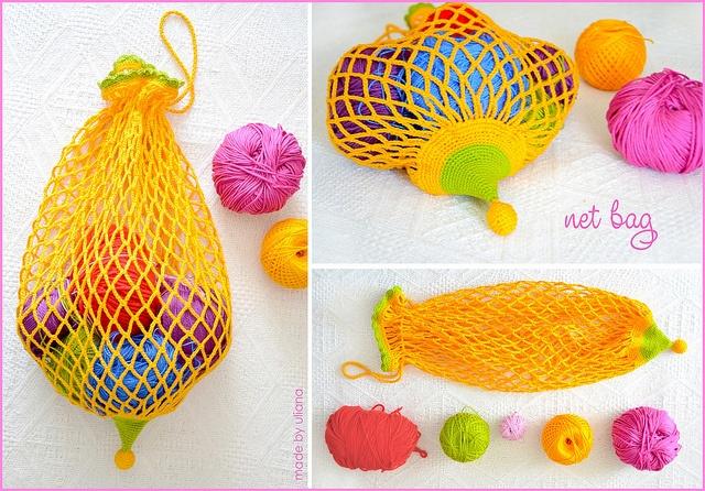 Crochet Net Bag : crochet net bag Crochet Pinterest