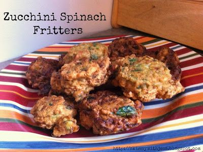 Zucchini Spinach Fritters | This is how we Make Sandwiches, Sides, Sn ...