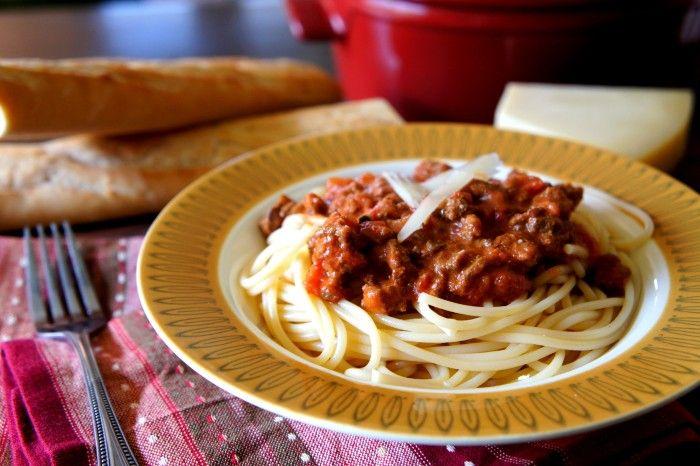 Crock Pot Pasta Bolognese | Recipe