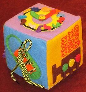 Мягкий кубик развивающий своими руками фото 53