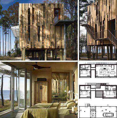 Modular Stilts Home Plan Idea Craft Pinterest