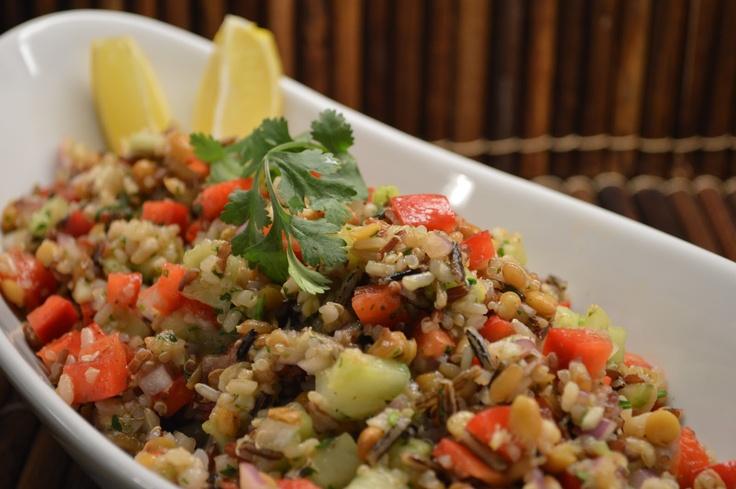Quinoa Summer Salad | Healthy Eating and Fun Food | Pinterest