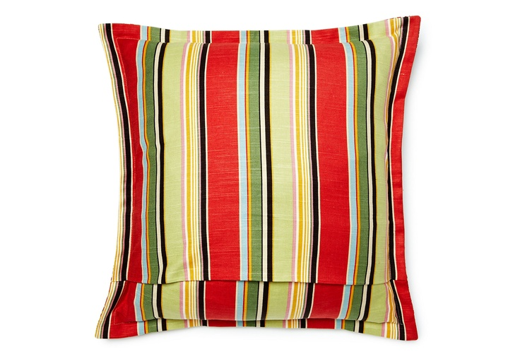 One Kings Lane - Brighten Up Your Bed - Palm Beach 22x22 Pillow, Multi